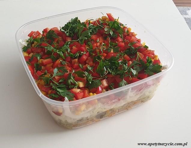 Przepis sałatka a'la kebab - Marta Skoczeń, dietetyk Wyszków Warszawa - blog o zdrowym odżywianiu, o odchudzaniu, dieta w Hashimoto