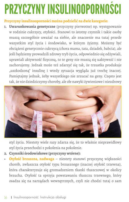 Przycyzny insulinooporności