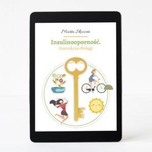 Ebook książka insulinooporność dietetyk Marta Skoczeń