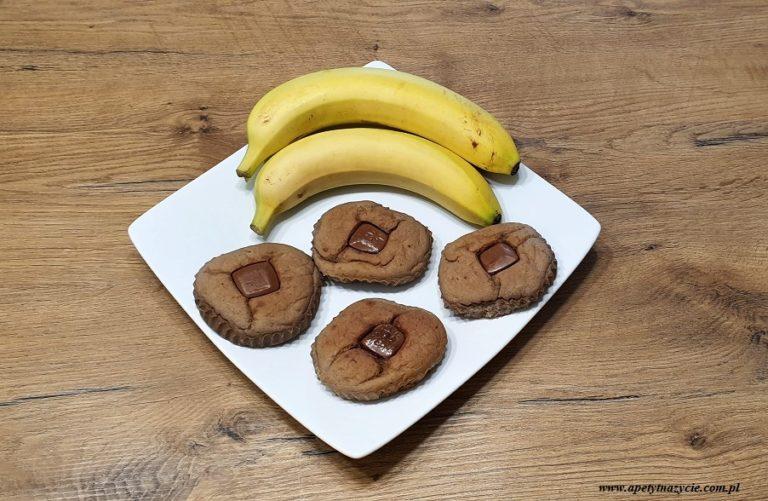 Ciasteczka bananowo czekoladowe